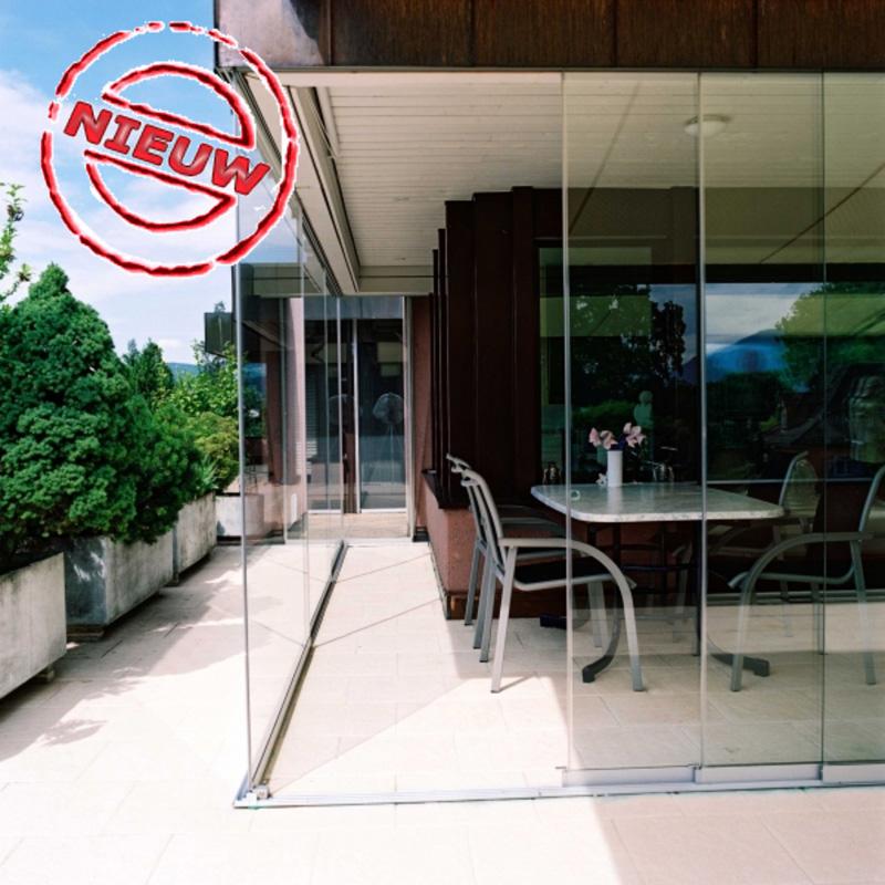 Glaswand Maatwerk Al23 5 Spoor Glaswanden Veranda Discount Nl