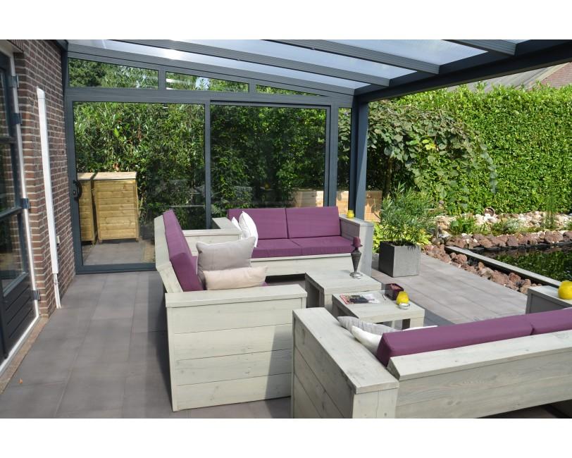 Aluxe Topline Glas - veranda - Veranda-discount.nl